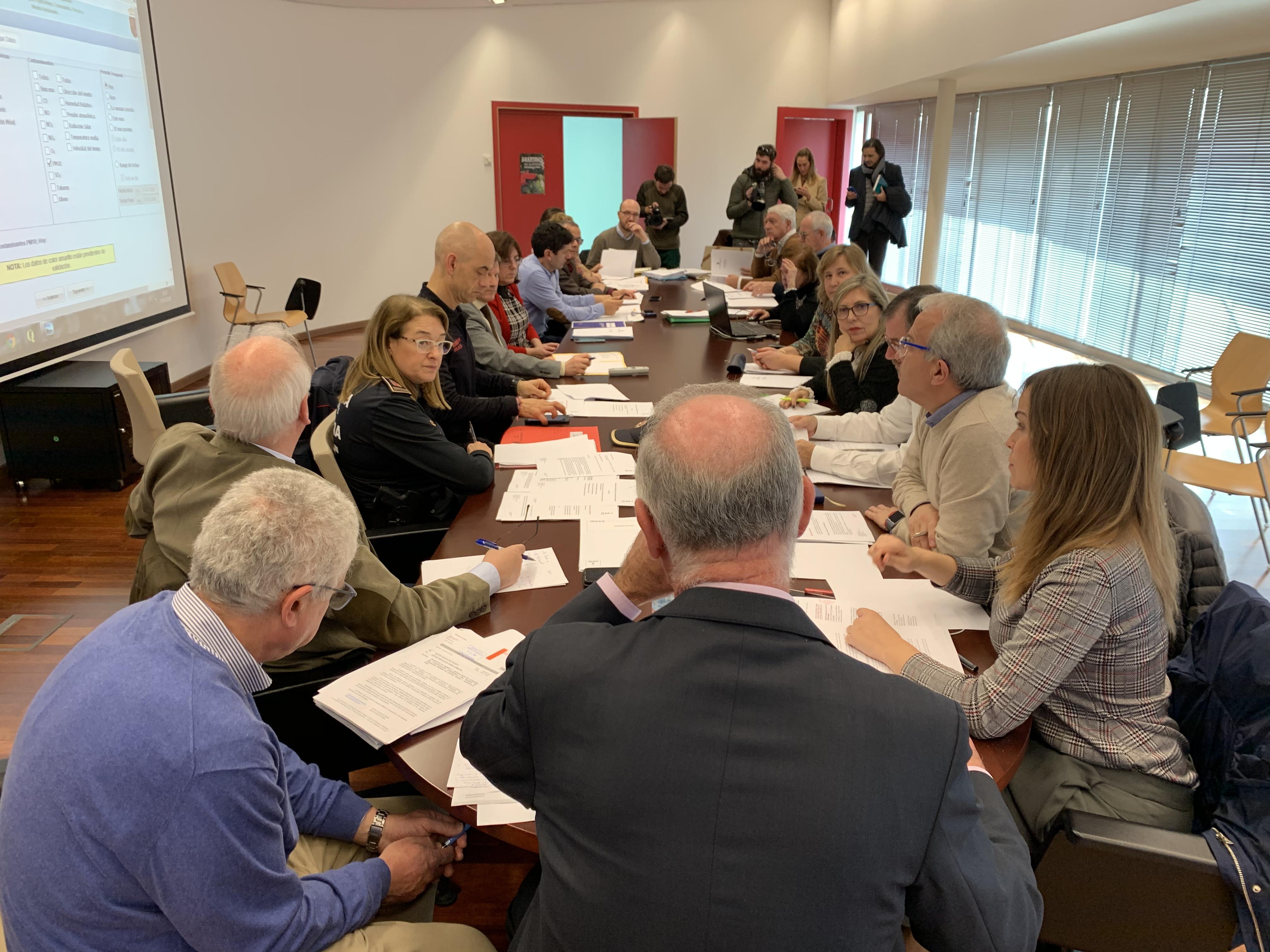 El Comité operativo de episodio de contaminación atmosférica ha sido convocado esta mañana de urgencia. Imagen: Ayto. de Murcia