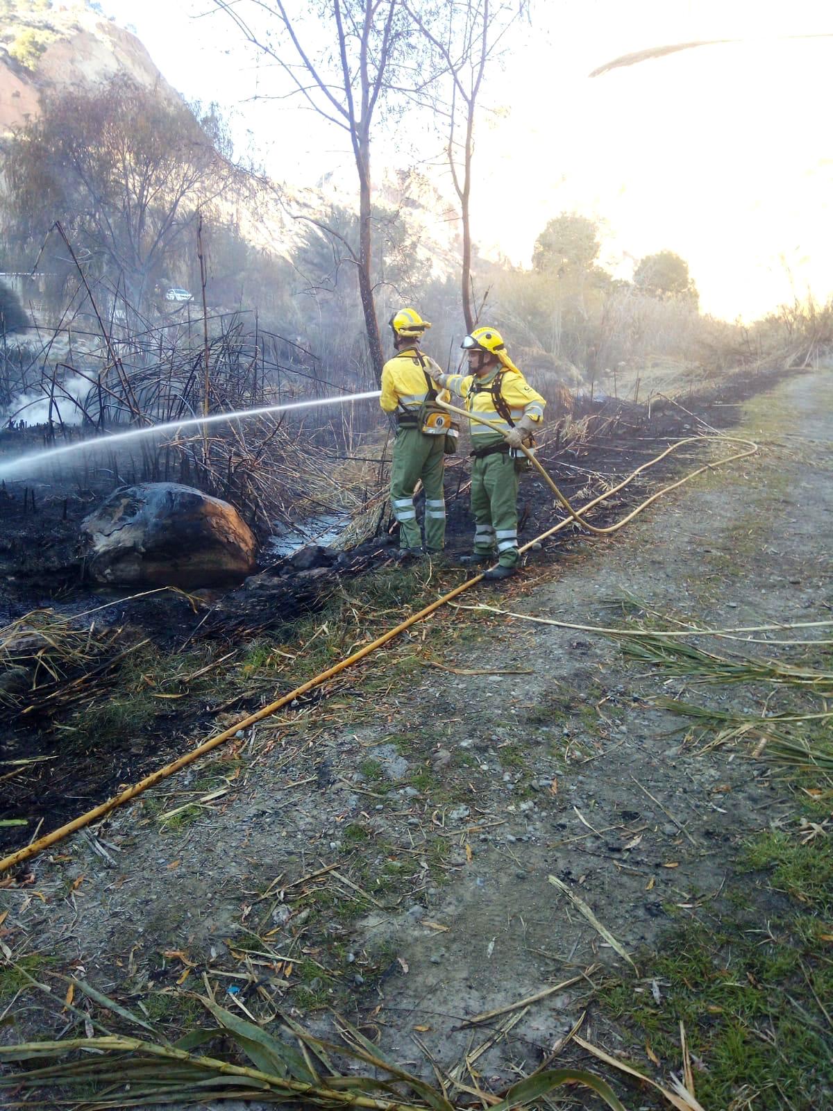 Agentes medioambientales y brigadas forestales refuerzan durante el verano las tareas para la prevención de incendios. Imagen: CARM