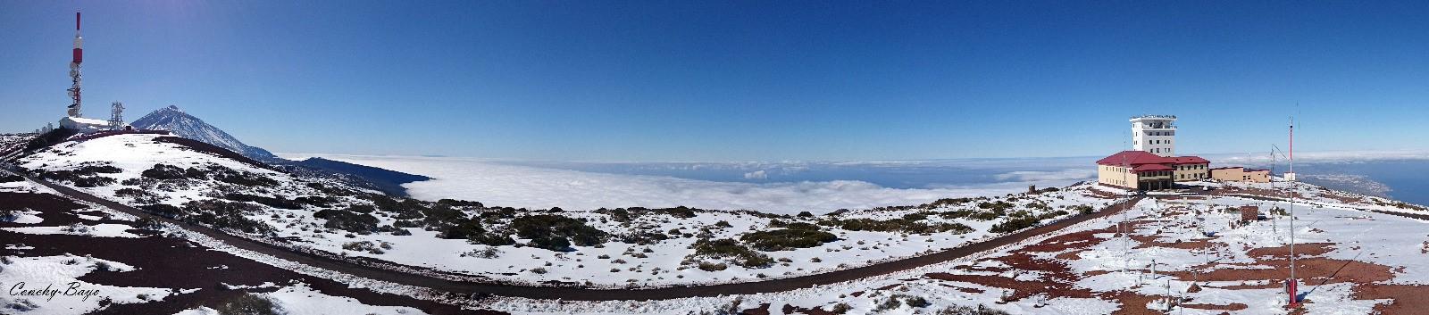 Observatorio de Vigilancia Atmosférica Global del Teide, o de Izaña, en Canarias. Imagen: Miteco