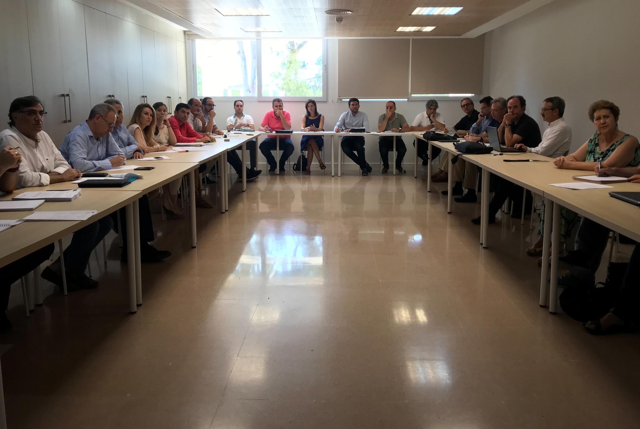 Un momento de la reunión del Comité Científico del Mar Menor. Imagen: CARM