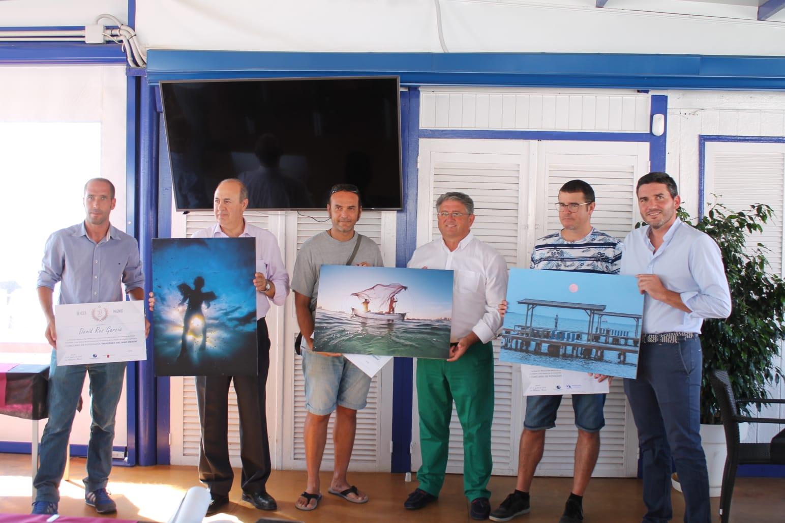 Entrega de los premios del concurso de fotografía organizado por la Estación Náutica del Mar Menor con la Comunidad Autónoma. Imagen: CARM