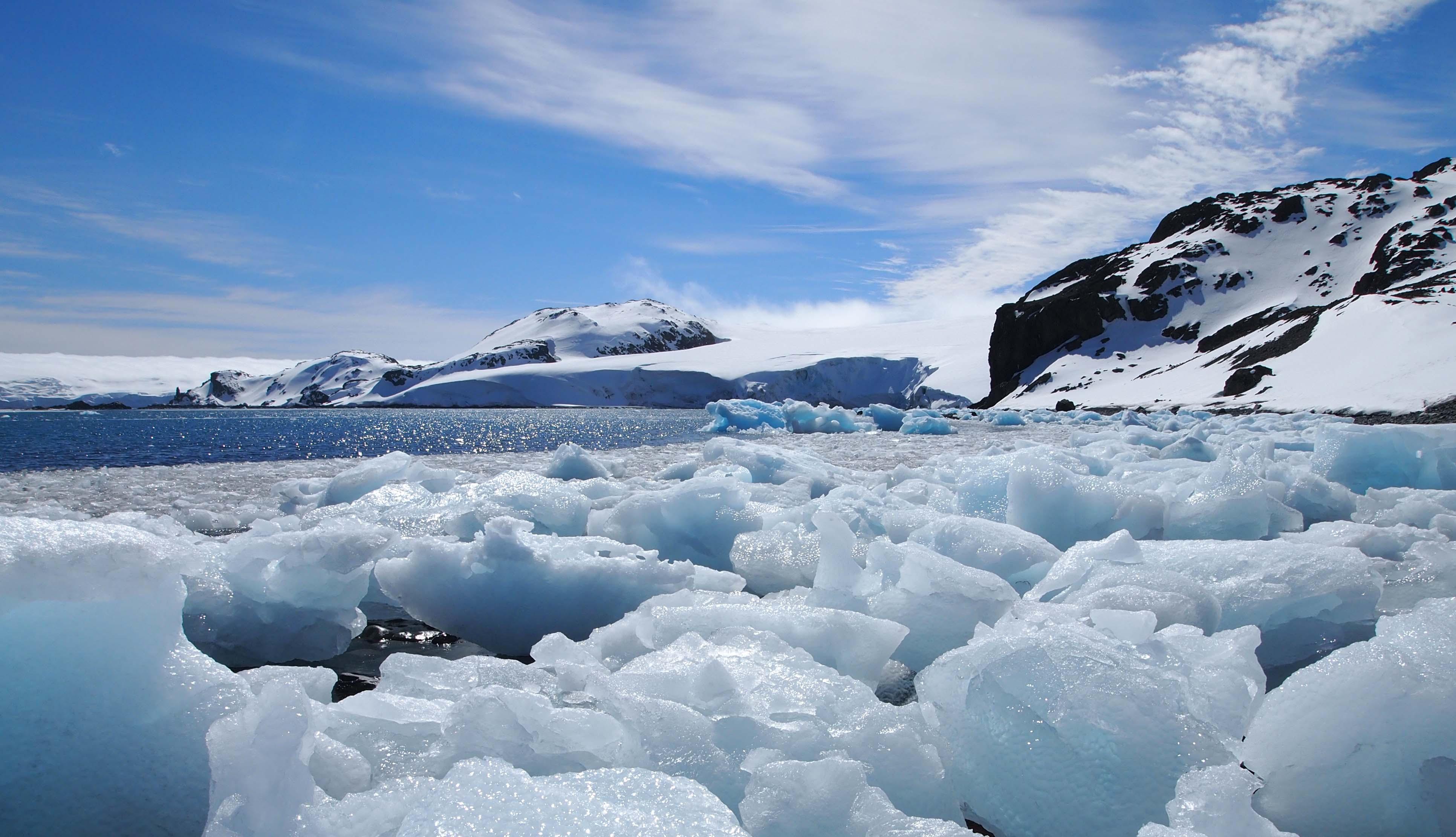 Capa de hielo de la capa de la Antártida Oriental, la más grande del planeta con una superficie de unas 21 veces España. Imagen: CSIC - IODP