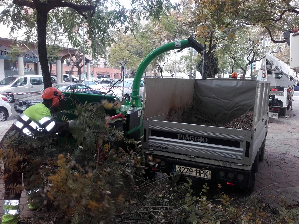 La biotrituradora del Ayuntamiento de Murcia, en marcha desde hace un año. Imagen: Ayto. de Murcia