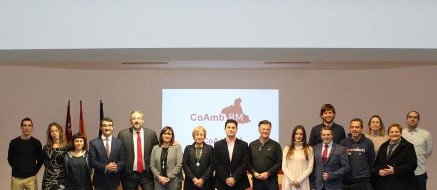 Junta Directiva Constituyente del Colegio Profesional de Ambientólogos de la Comunidad Autónoma de la Región de Murcia. Imagen: CoAmbRM