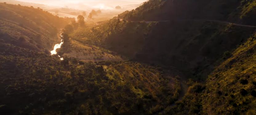 Fotograma del video promocional del Corredor Verde del Guadalhorce