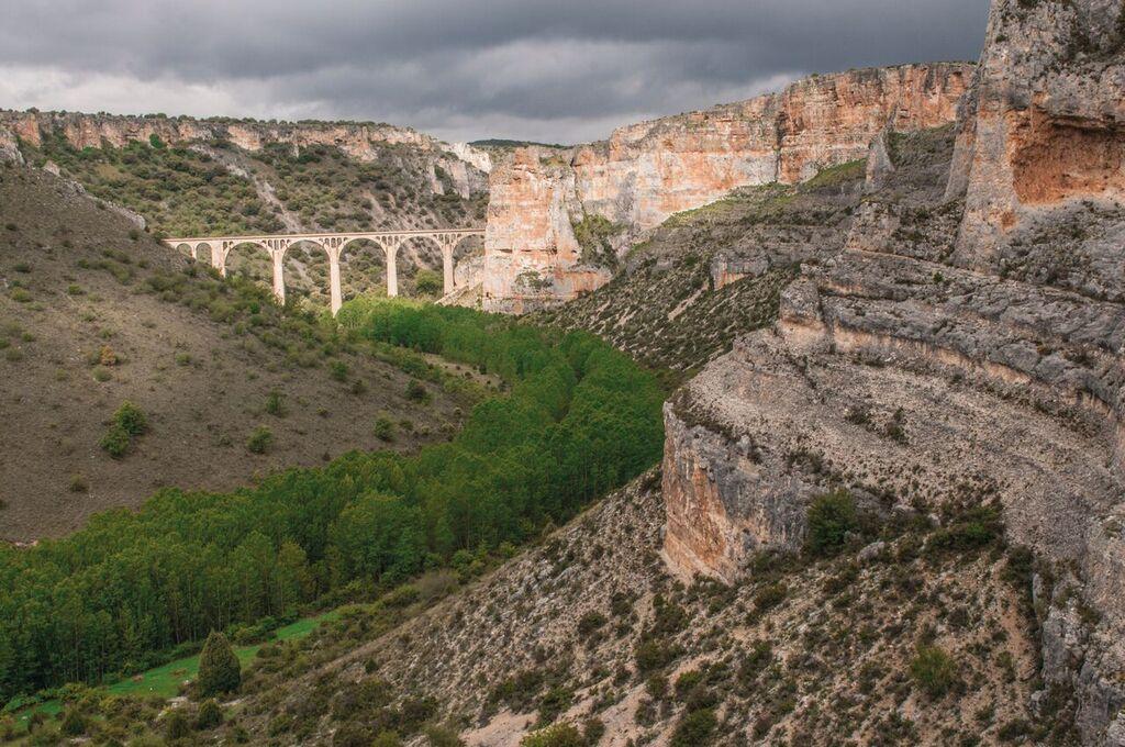 Cortados y puente de las Hoces del Riaza. Imagen: WWF España