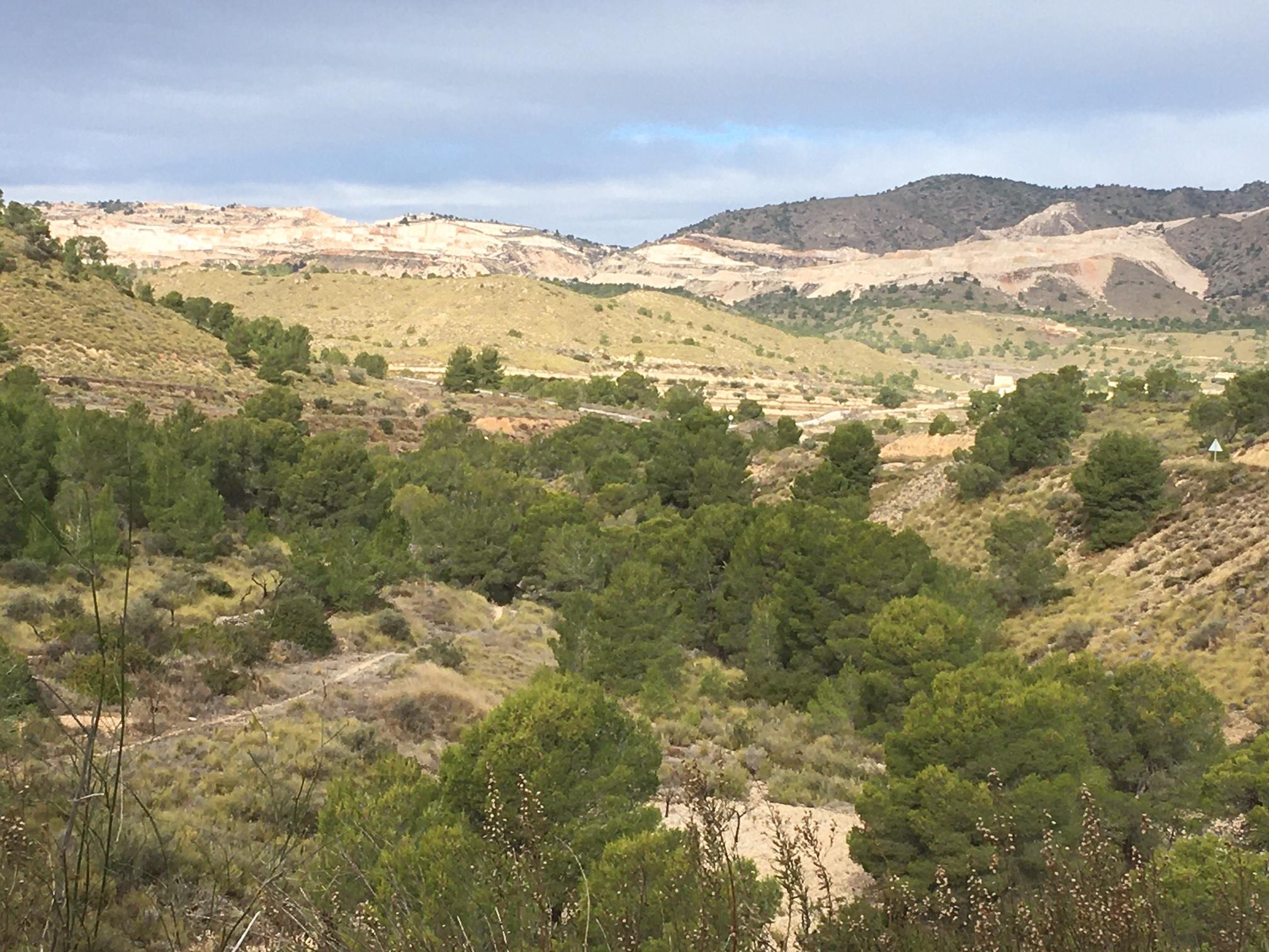 Entorno de la localidad de Peña Zafra de Abajo. Imagen: ACUDE