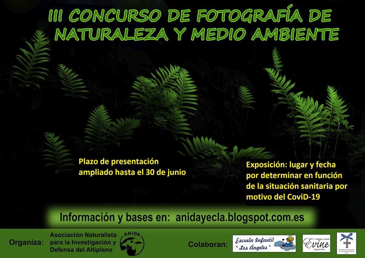 III Concurso fotográfico de Naturaleza y Medio Ambiente ANIDA