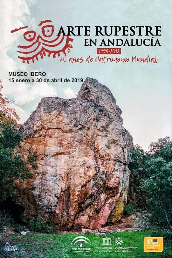 'Arte Rupestre en Andalucía. 20 años de la declaración de Patrimonio Mundial', con la Junta de Andalucía