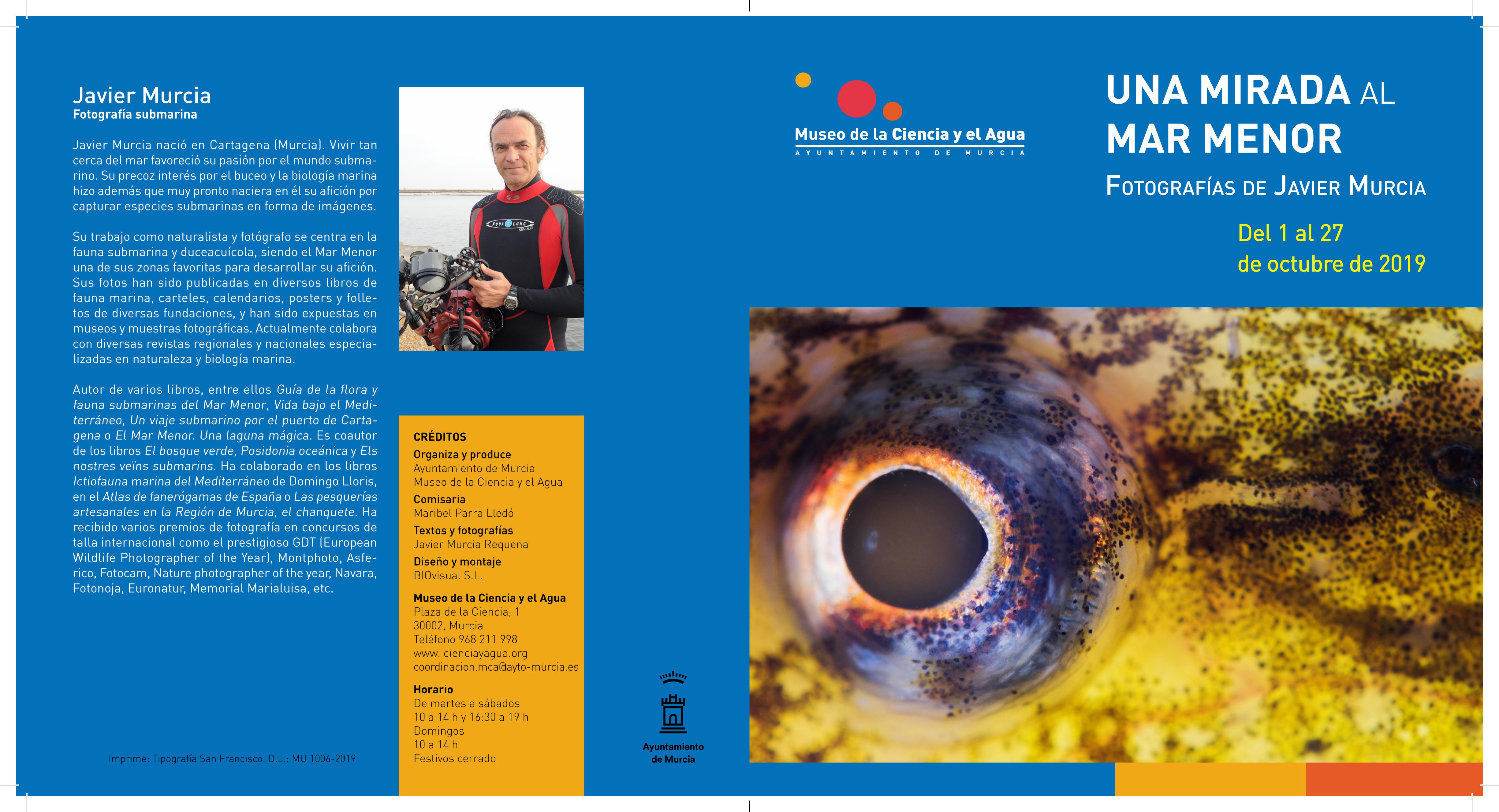 Expo 'Una mirada al Mar Menor', con el Museo de la Ciencia y el Agua