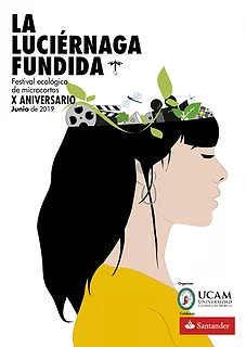 Cartel del Concurso de vídeos La Luciérnaga Fundida