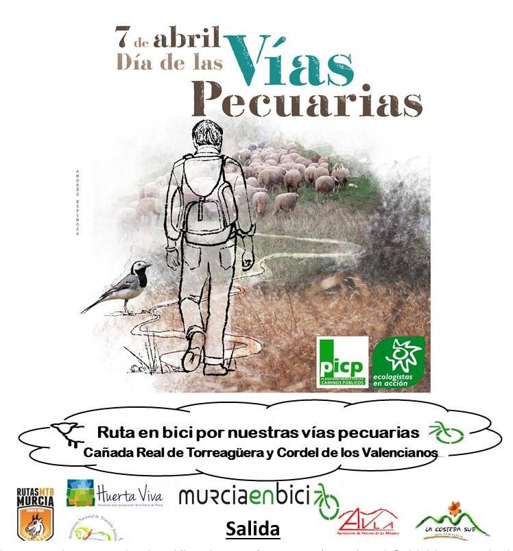 Rutas en Familia / y con Encanto/ por el Día de las Vías Pecuarias, con Murcia en Bici