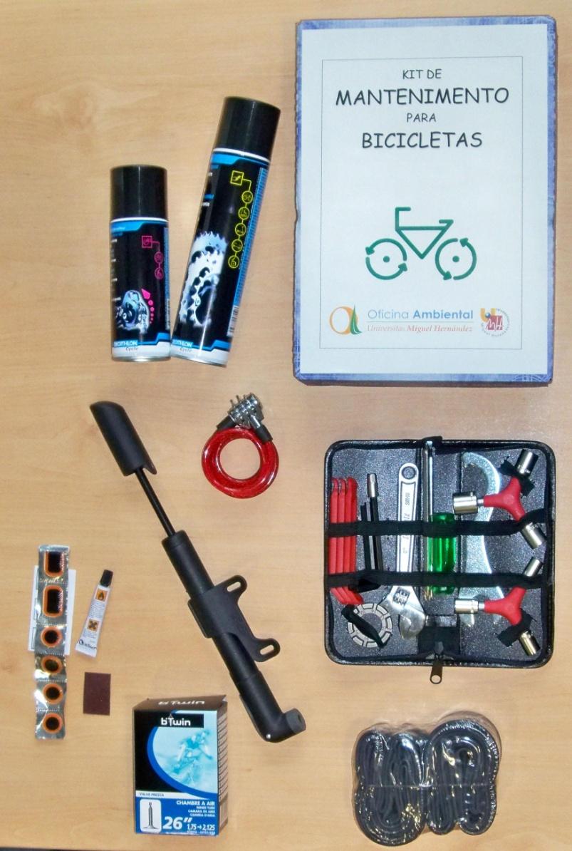 Kit de Biciletas de la UMH.