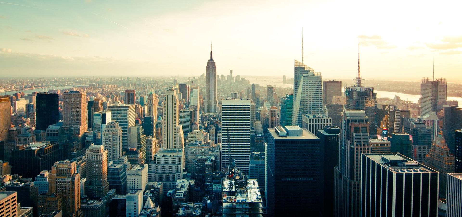 Una panorámica de Manhattan, en la ciudad de Nueva York. Imagen: Pixabay / CSIC