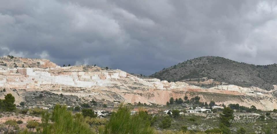 Aspecto del monte público que soporta la minería a cielo abierto. Imagen: EEA