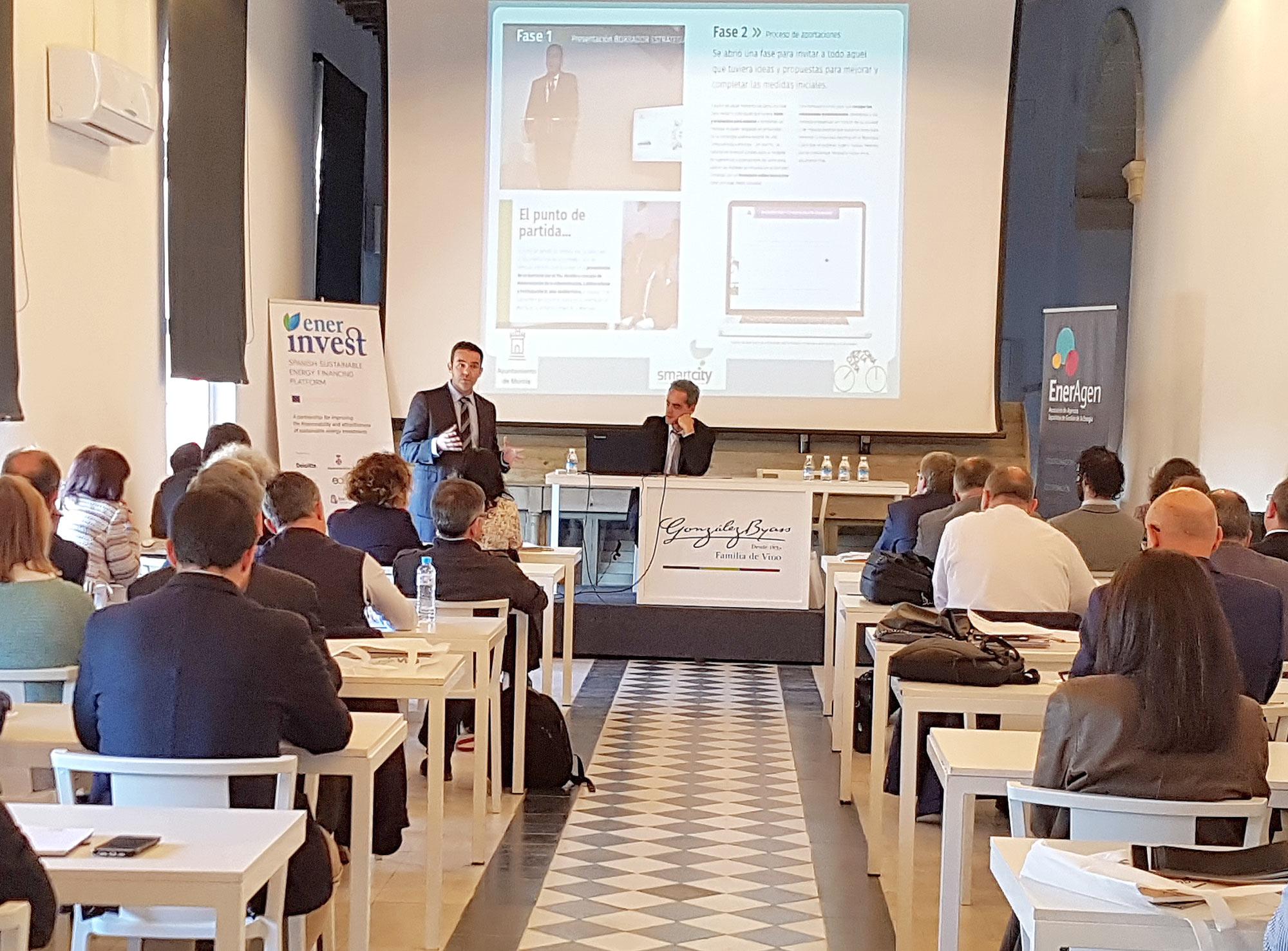 La Agencia Local de la Energía de Murcia ha participado en la XVI Asamblea General de la Asociación de Agencias Españolas de Gestión de la Energía (Eneragen). Imagen: Ayto. de Murcia