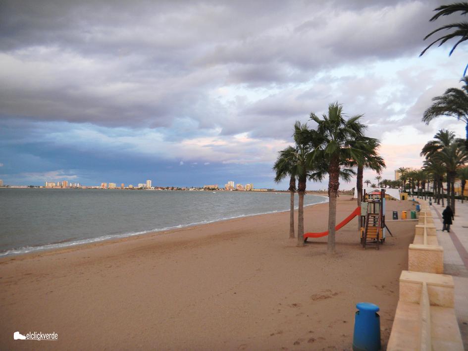 Playas del Mar Menor. ecv