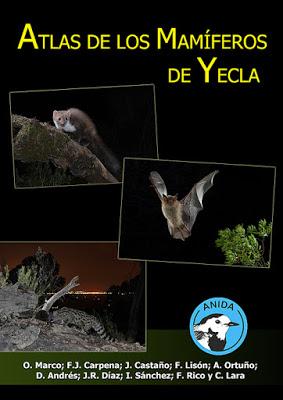 Atlas de los Mamíferos de Yecla.
