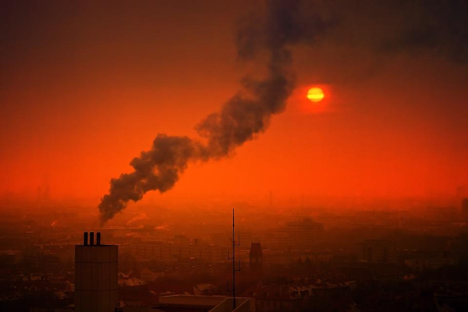Smog en una ciudad