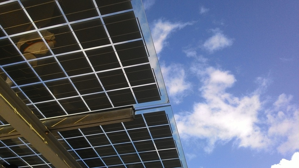 Paneles solares. Imagen: Pixabay