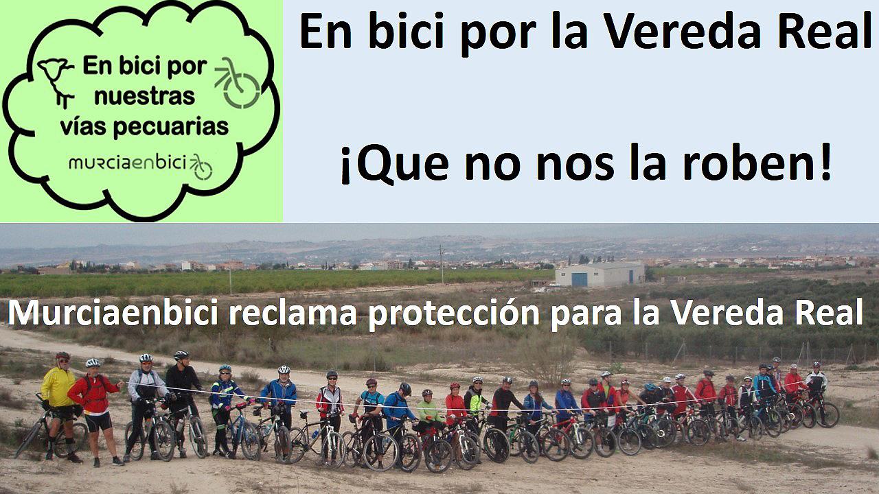 Otra imagen de los ciclistas.