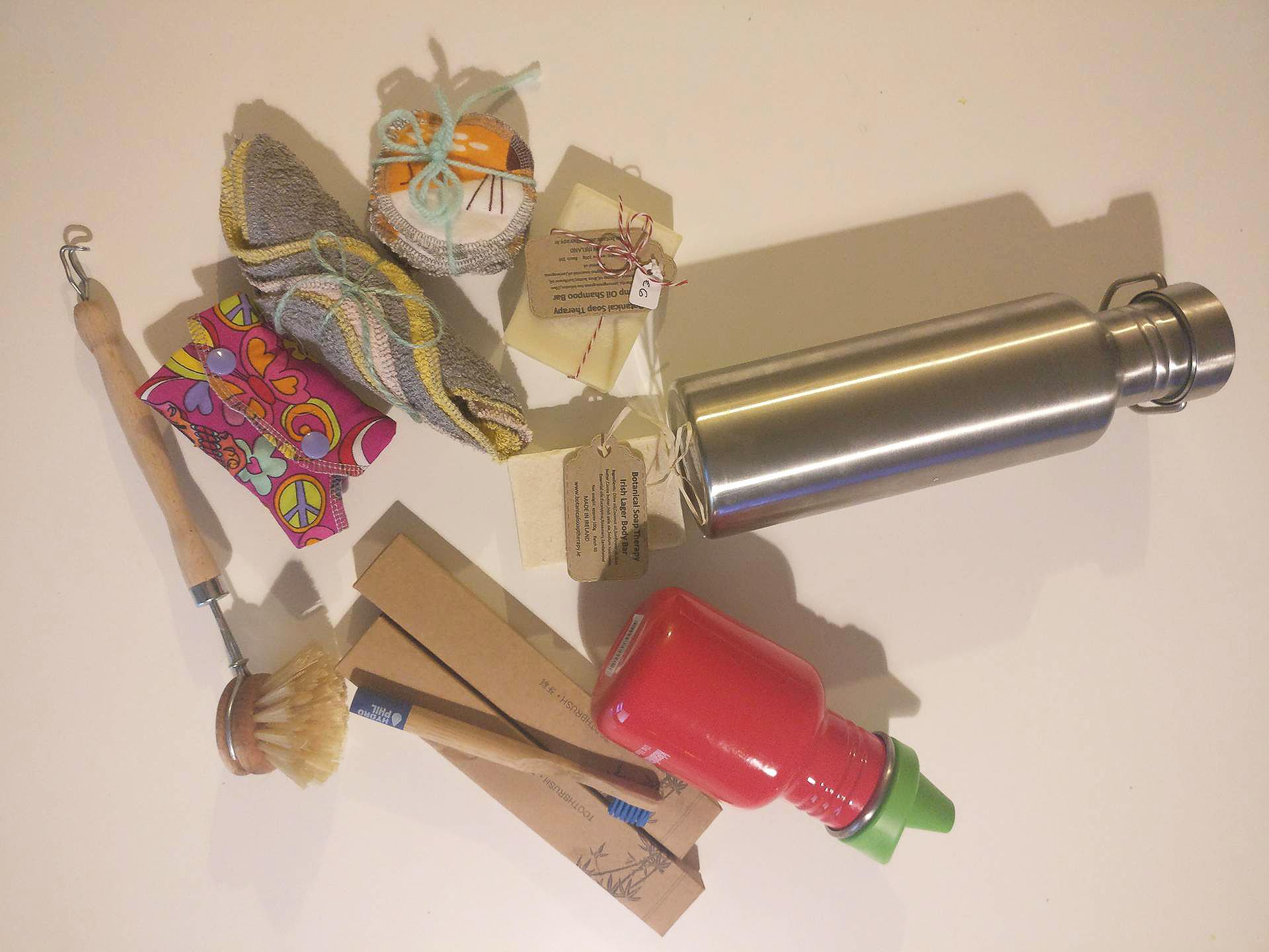 """El primer kit Zero Waste de Almudena, que """"acaba de empezar"""" en esto. Imagen: Almudena Caro"""